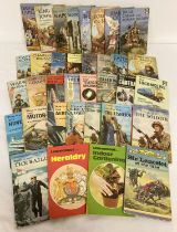 A collection of 35 vintage Ladybird books from the 1960's - 80's.