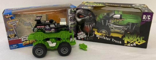 A boxed radio controlled Champions Sports Poisons 4x4 Monster Truck.