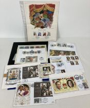 A collection of limited edition and special edition mint first day covers. Comprising: Diamond Ju…