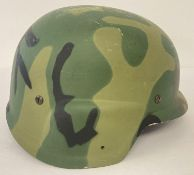 US prototype Personnel Armor System Ground Troops (PASGT) helmet, believed to be made from GRP.