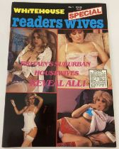 First Issue of Whitehouse Special Readers Wives, adult erotic magazine, No.1.