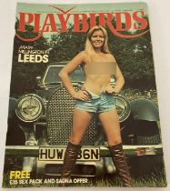 """First issue of """"Playbirds"""", adult erotic magazine volume 1, No. 1."""