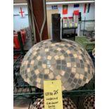 Base de parasol GEO DOME - gris