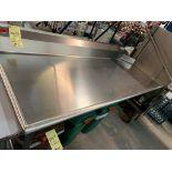 Table d'entrée vaisselle # TLC - 72 x 30 - gauche - NEUVE