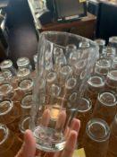 Lot de 100 approx verres d'eau