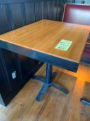 """(18) Belles Tables style Butcher block - bois 30 x 24 """" - QUANTITÉ X PRIX MISÉ"""