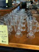 Lot de 14 tasses café verres +
