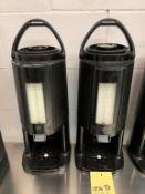 Lot de 2 distributrices café / liquide