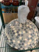 Base de parasol GEO Dome - ceramic
