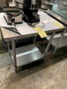 """Table de travail MKE # ECTC 6024 - 24 x 30 """" - NEUVE"""