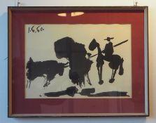 Picasso: Kunstdruck.