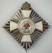 Preussen: Roter Adler Orden, 4. Modell (1885-1917), 2. Klasse Stern, mit Eichen