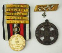 Preussen: Nachlass eines Veteranen des Deutsch-Französischen Krieges 1870/71.
