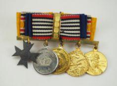 Deutsches Reich: Miniaturenbarett eines Veteranen des Boxeraufstandes.