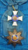 Preussen: Kronen-Orden, 3. Modell (1869-1918), 1. Klasse Satz.