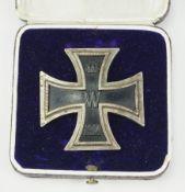 Preussen: Eisernes Kreuz, 1914, 1. Klasse, im Etui - 800.