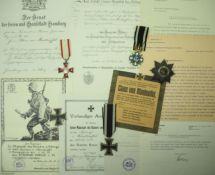 Preussen: Nachlass des Leutnant von Manteuffel im Reserve-Infanterie-Regiment N