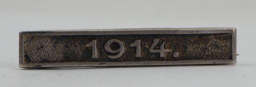 Bayern: Verdienstkreuz für freiwillige Krankenpflege - Spange 1914.