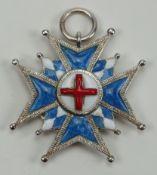 Bayern: Hausritterorden vom Heiligen Georg, Bruststern Miniatur.