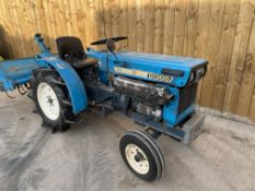 yanmar YM 2301 tractor with rotavator .location N Ireland.