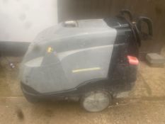 karcher profeesional diesel hot and cold power washer.location N Ireland.