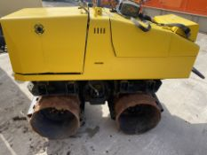 2007 JCB Vibromax remote control trench roller sheep foot