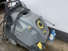 karcher diesel hot and cold power washer.location N Ireland.