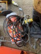 C M lodestar 1/2 tonne chain hoist 110v.Location N Ireland.