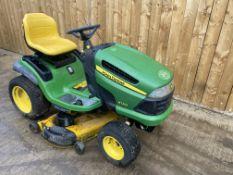 John deere X140 Ride on mower *Direct council*