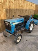 Mitsubishi D1300 Compact Tractor & Rotavator