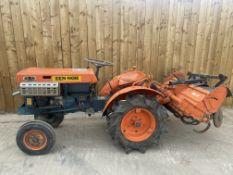 Kubota ZB7000E Compact tractor & Rotavator
