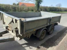 2014 Ifor williams Tipping Trailer TT3017