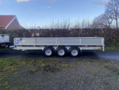 2020 Ifor williams 16FT Tri axle trailer