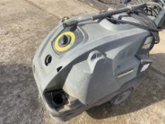 KARCHER DIESEL COMERCIAL HOT AND COLD POWER WASHER.LOCATION N IRELAND.