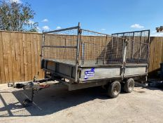 IFOR WILLIAMS LM126 CAGE SIDE TRAILER LOCATION CO DURHAM