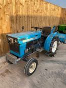 MITSUBISHI D1300 DIESEL COMPACT TRACTOR AND ROTOVATOR LOCATION CO DURHAM