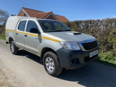2012/62 TOYOTA HILUX PICL UP 4X4 LOCATION CO DURHAM