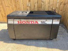 HONDA EXW280 8KVA DIESEL WELDER GENERATOR 110/240V LOCATION CO DURHAM