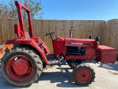 FORD 1720 COMPACT DIESEL TRACTOR LOCATION CO DURHAM