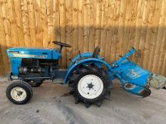 MITSUBISHI D1300 DIESEL COMPACT TRACTOR LOCATION CO DURHAM