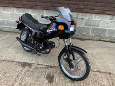 1989 TOMOS 50 CC CLASSIC MOPED LOCATION CO DURHAM