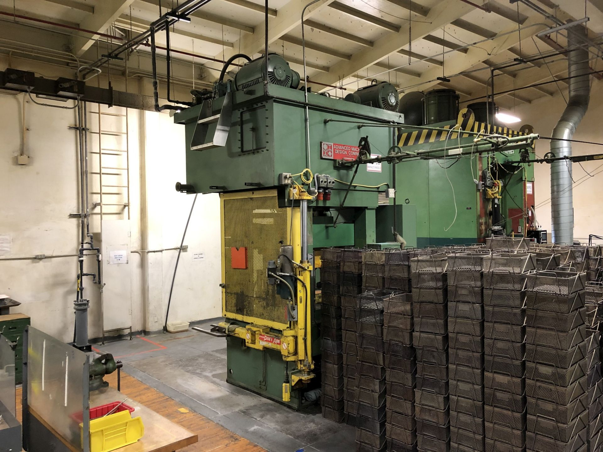 570 Ton Advanced Machine Design Straight Side Press - Image 2 of 15