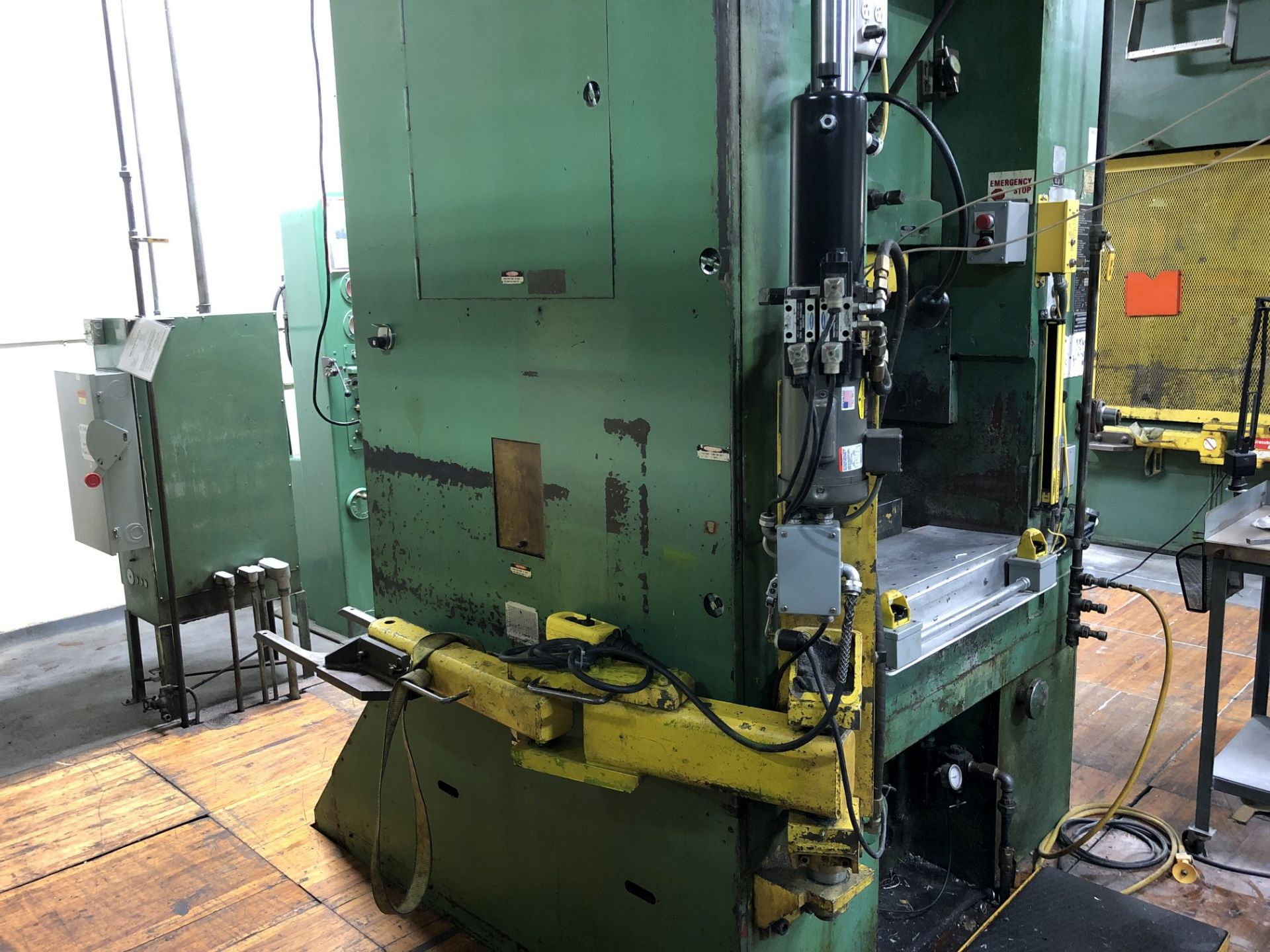 800 Ton Komatsu Maypress Knuckle Joint Press - Image 12 of 17