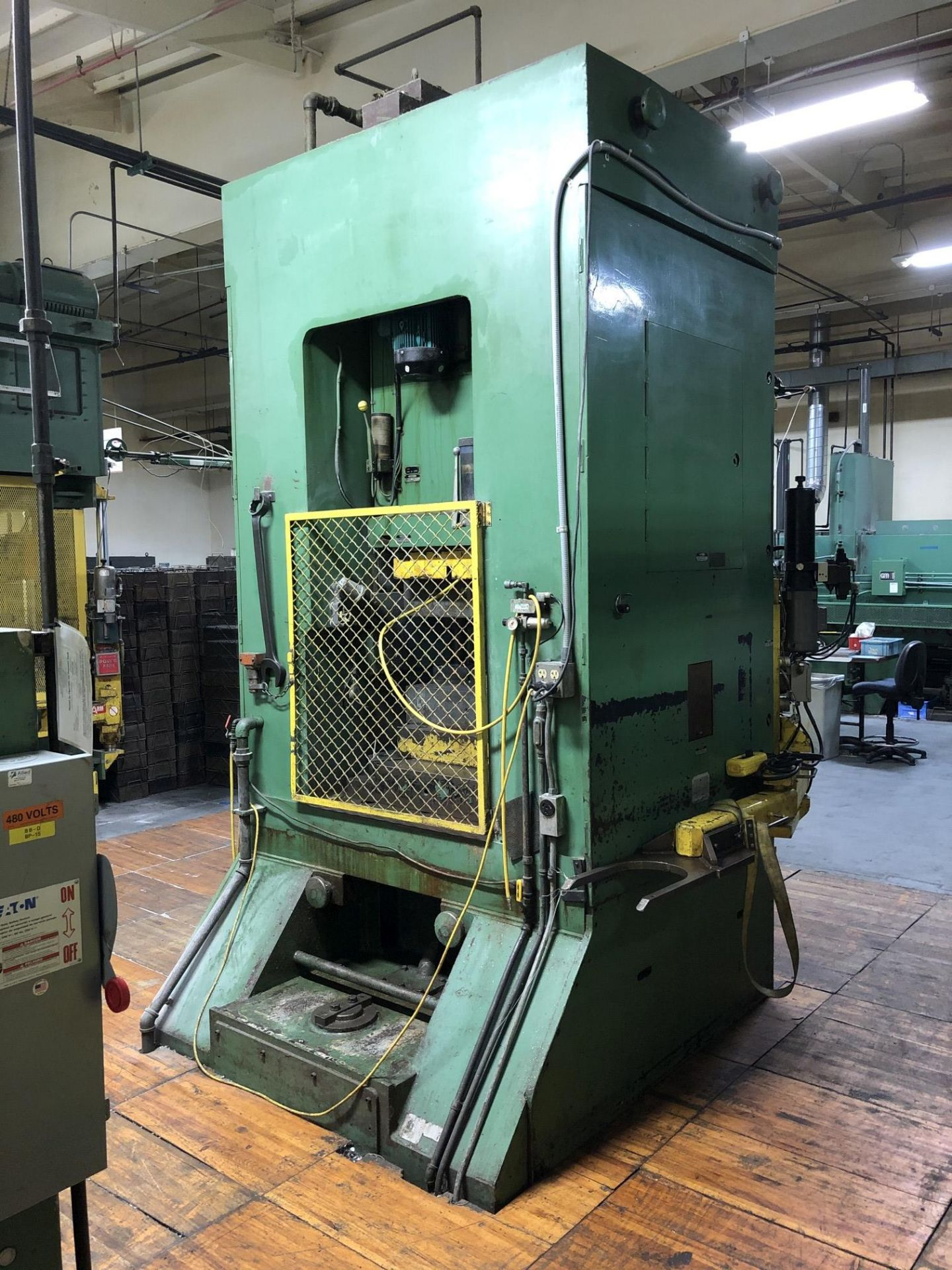800 Ton Komatsu Maypress Knuckle Joint Press - Image 9 of 17
