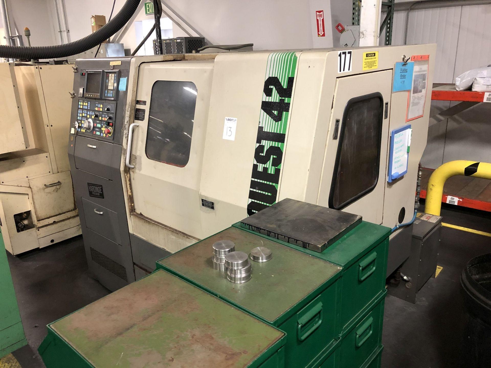 Hardinge Conquest 42 CNC Lathe - Image 2 of 11