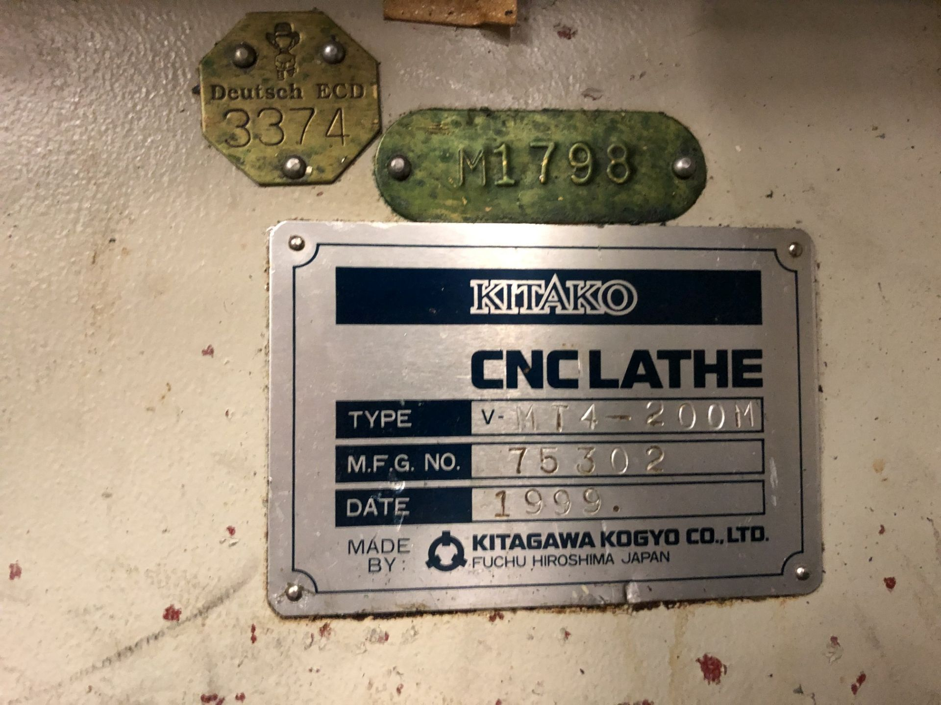 1999 Kitako MT4-200M Multi-Spindle CNC Turning Mill - Image 15 of 15