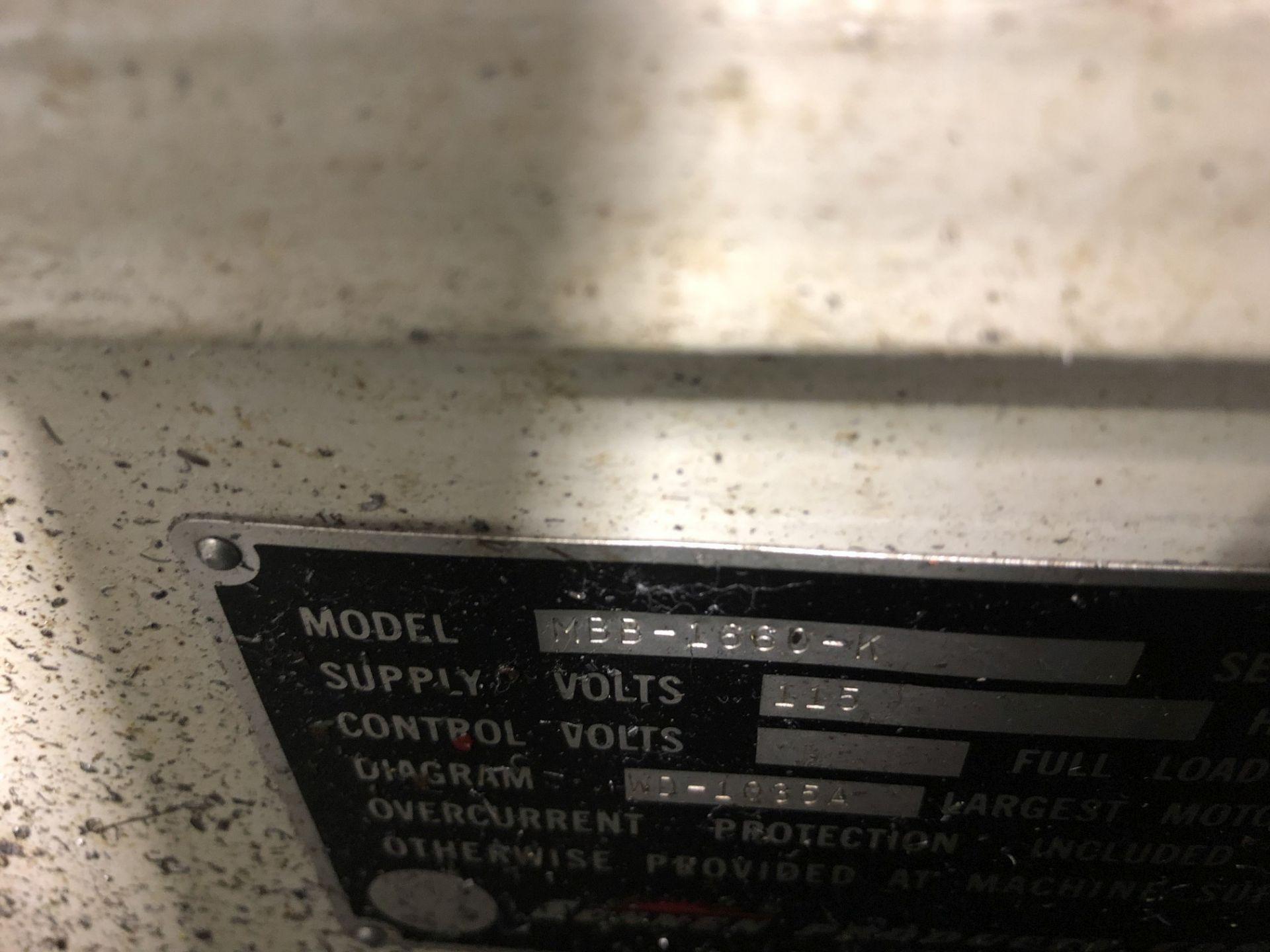 Sunnen MBB-1660 Precision Honing Machine - Image 8 of 8