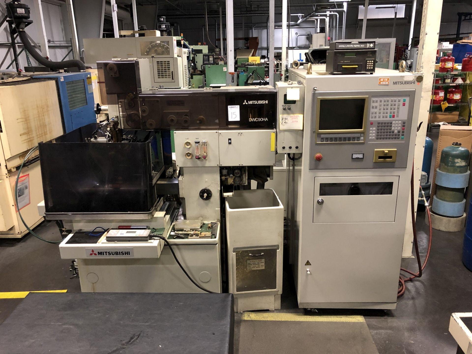 1993 Mitsubishi DWC90HA CNC Wire EDM
