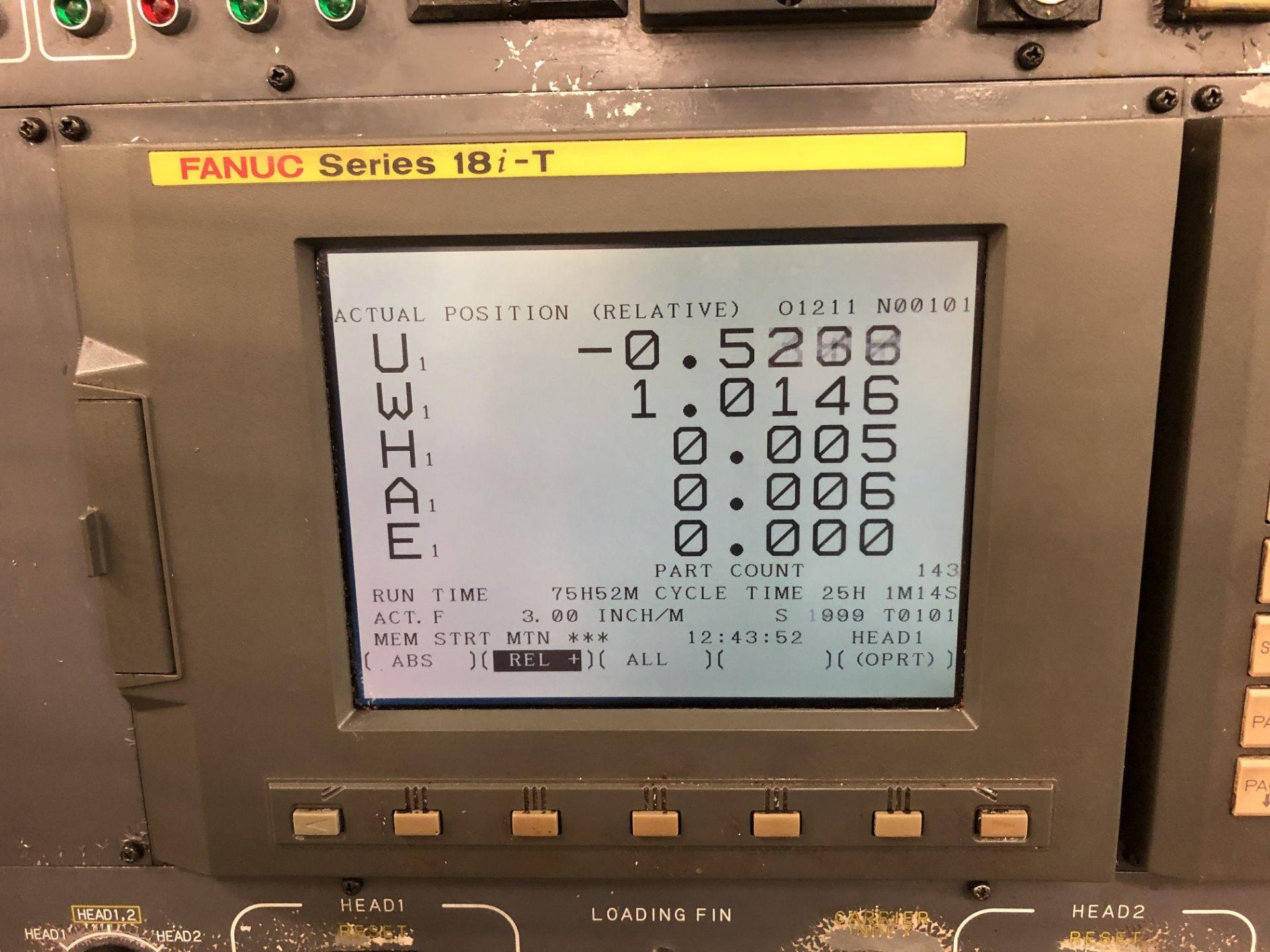 1999 Kitako MT4-200M Multi-Spindle CNC Turning Mill - Image 7 of 19