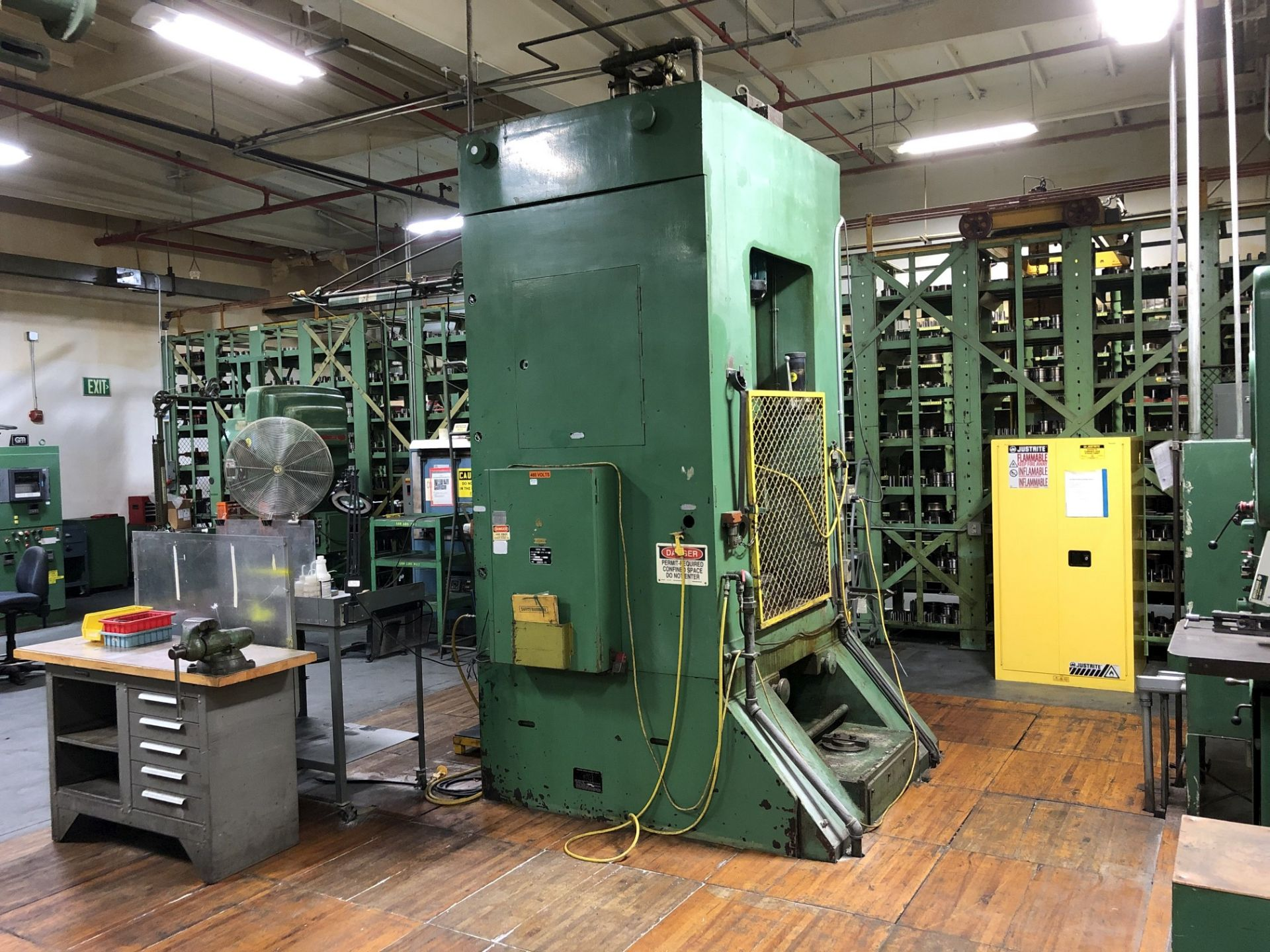 800 Ton Komatsu Maypress Knuckle Joint Press - Image 8 of 17